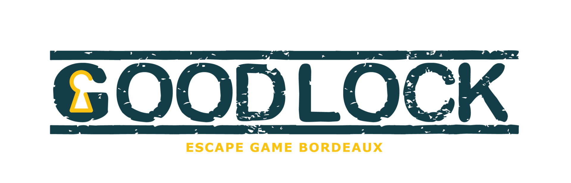 Logo transparent Goodlock Escape Bordeaux