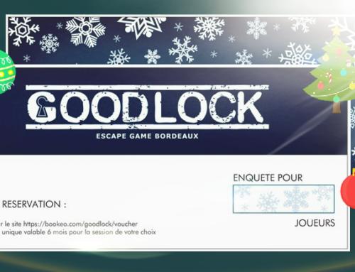 Offrir un bon cadeau Goodlock Escape Bordeaux pour Noël