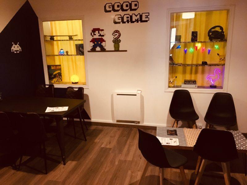 Bar à jeux good game goodlock escape bordeaux retro gaming